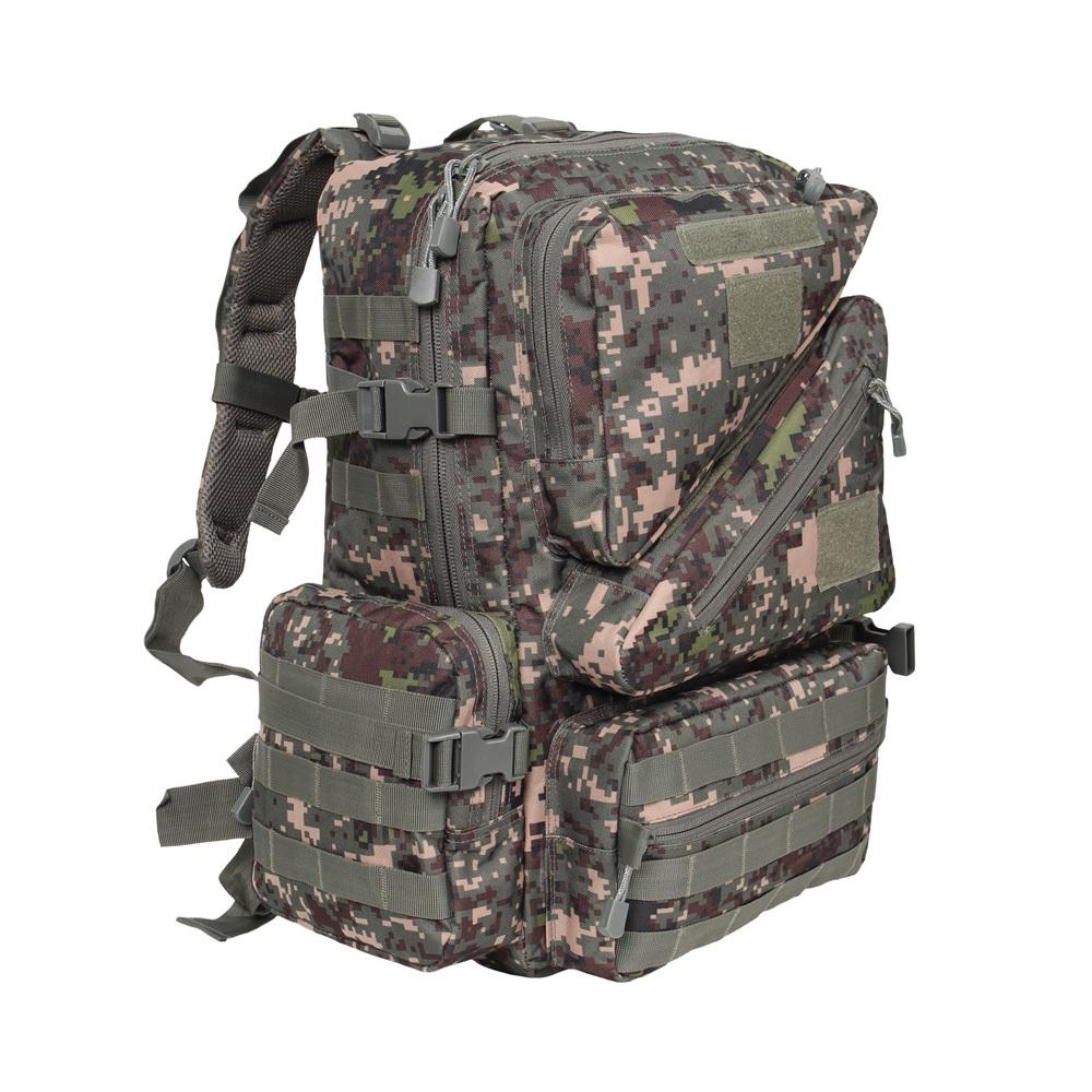 몰리어설트3(50L)디지털 군인가방 학생 밀리터리백팩