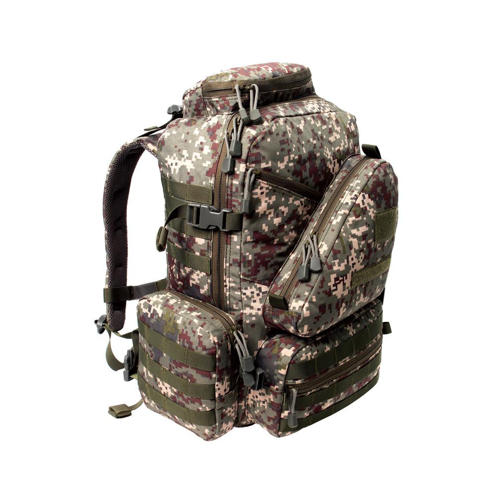 더블망사백팩(50L)디지털 군인가방 로카 밀리터리백팩