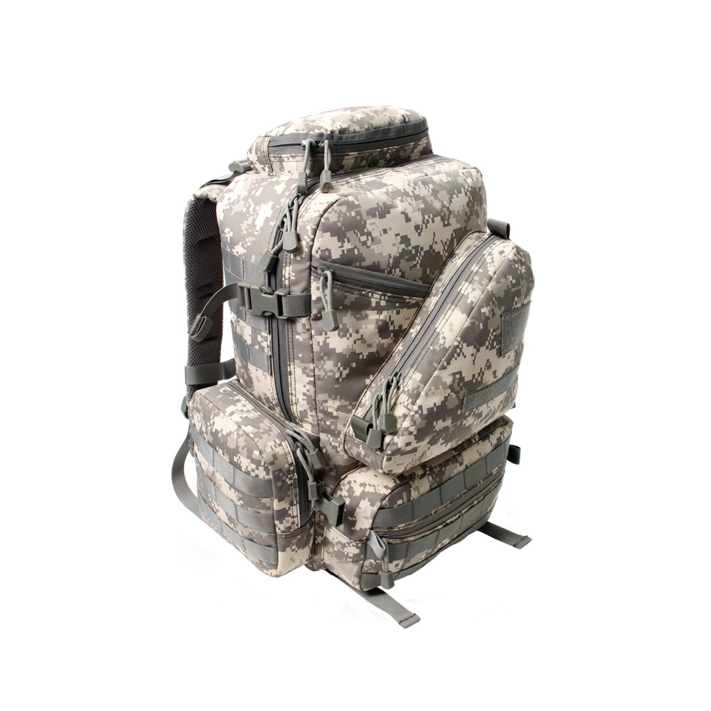더블망사백팩(50L)ACU 군인가방 로카 밀리터리백팩