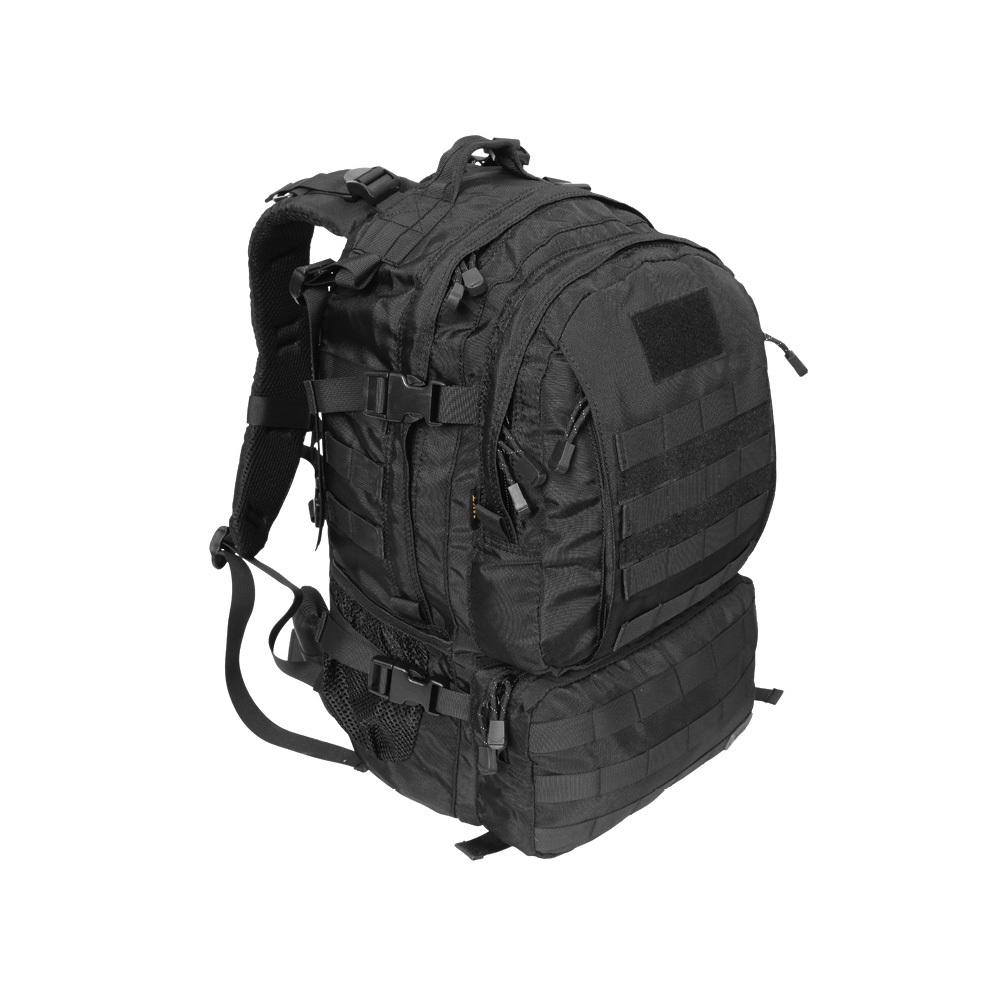 더블전술백팩(45L)검정 군인가방 로카 밀리터리백팩