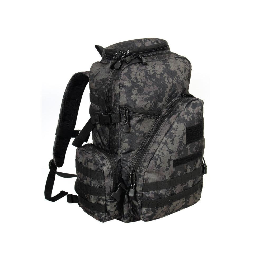 스마트백팩1(40L)검정디지털 군인가방 밀리터리백팩
