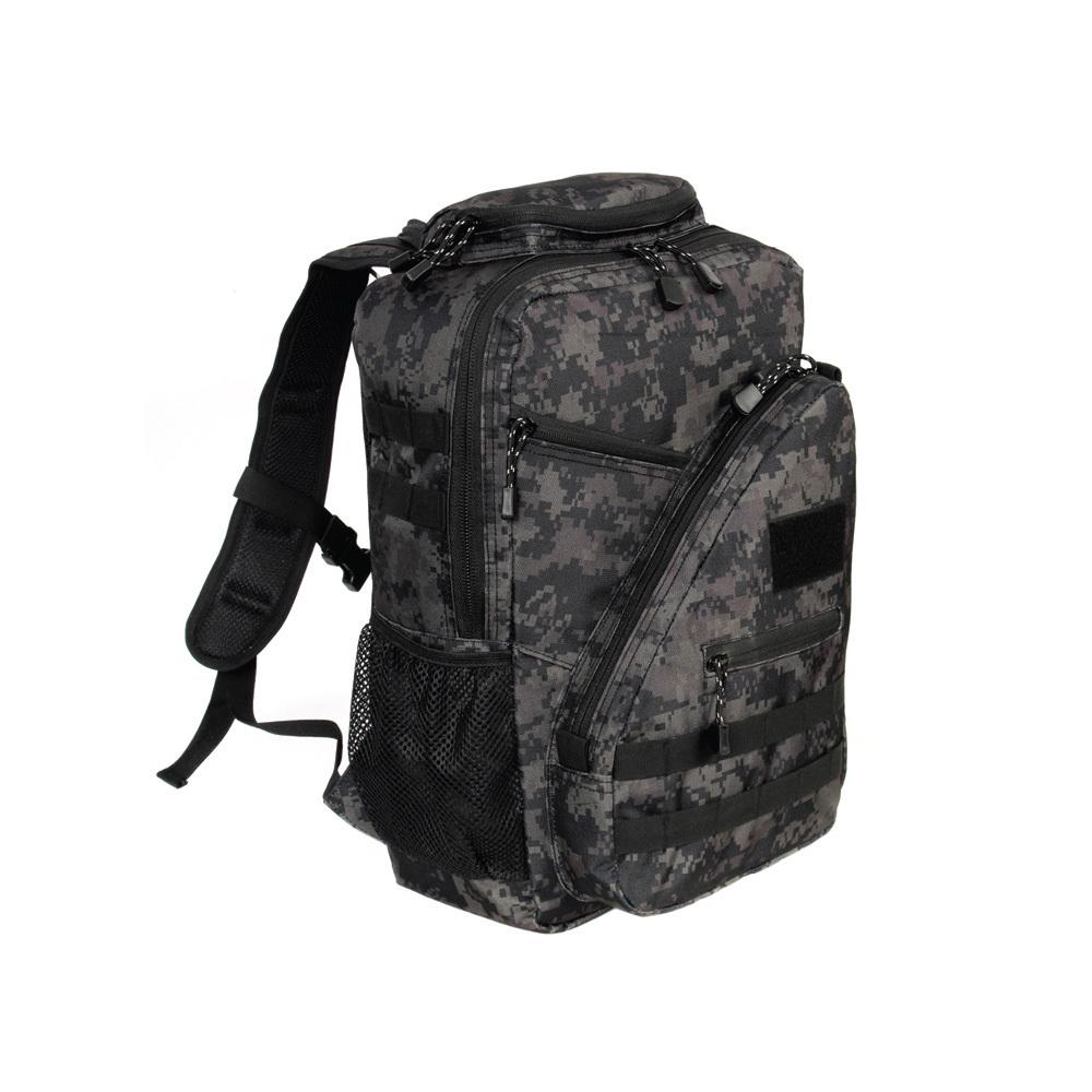 스마트백팩2(40L)검정디지털 군인가방 밀리터리백팩