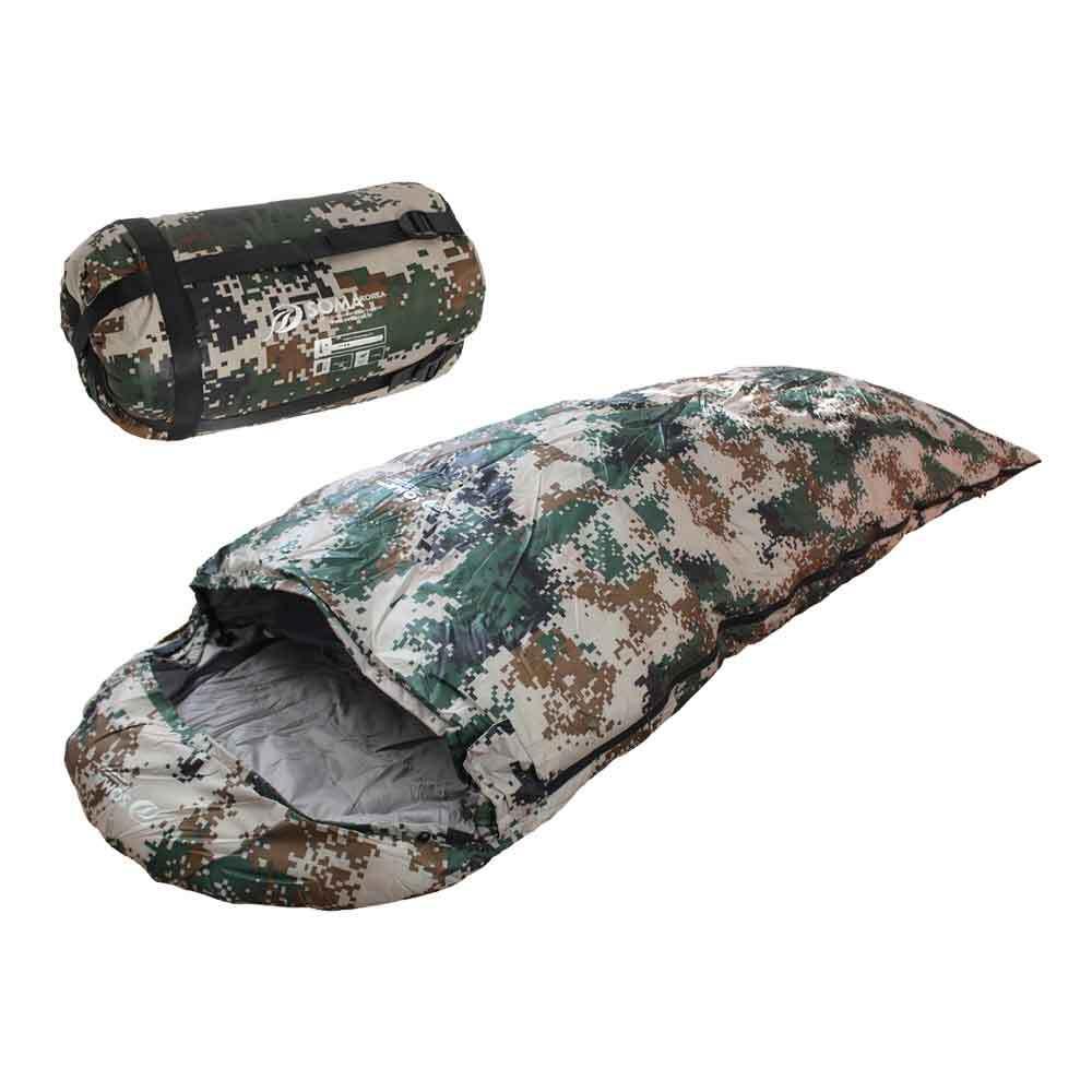 밀리터리 디지털 오리털 침낭 군인 캠핑 훈련용품