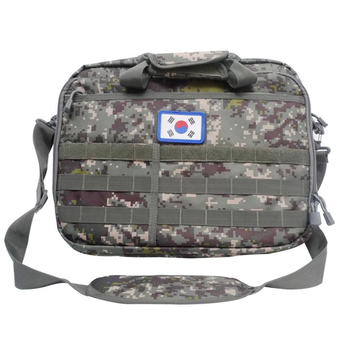 디지털 육군 간부 서류가방 밀리터리 노트북 교관가방