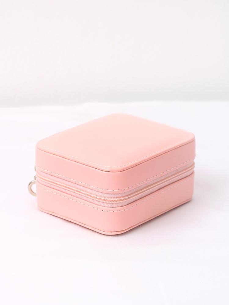 핑크 지퍼 쥬얼리 2단 악세사리 보관함 - 라라리빠, 16,900원, 정리/리빙박스, 소품정리함