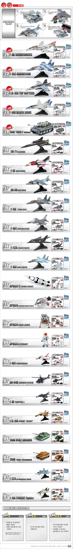 [4D퍼즐]F-4E 팬텀-2 전투기(S80154) - 로보카폴리, 6,800원, 밀리터리 프라모델, 밀리터리 프라모델