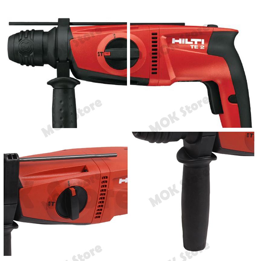 Hilti Dual Mode Sds Rotary Hammer Drill Te2 220v Concrete
