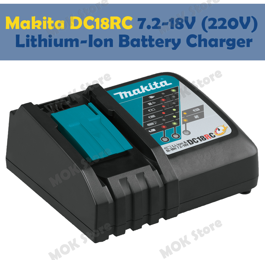 Makita Dc18rc 7 2 18v 220v Lithium Ion Rapid Optimum