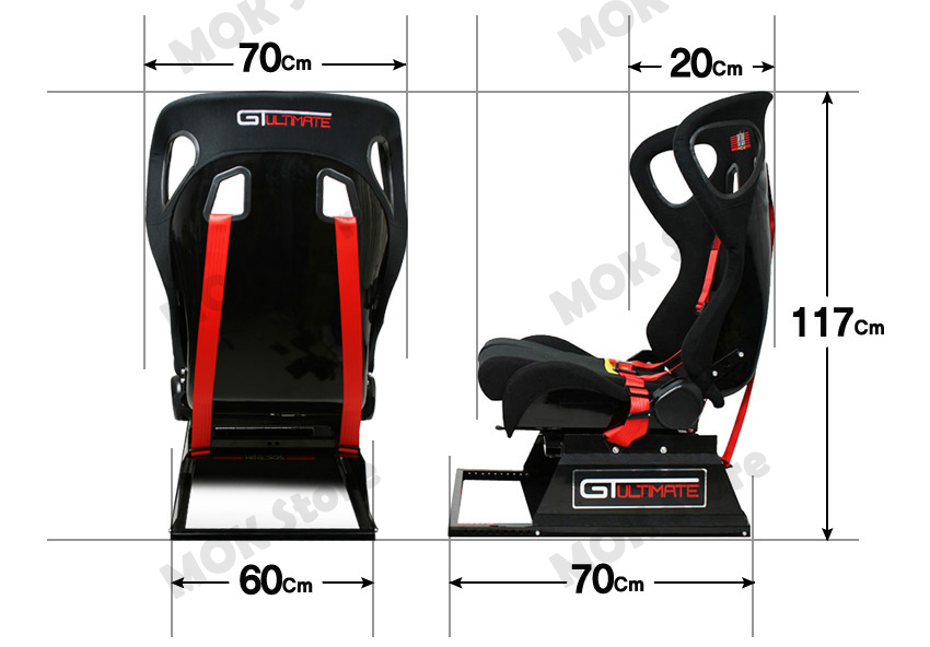 New Next Level Gtultimate Racing Simulator Cockpit Gaming