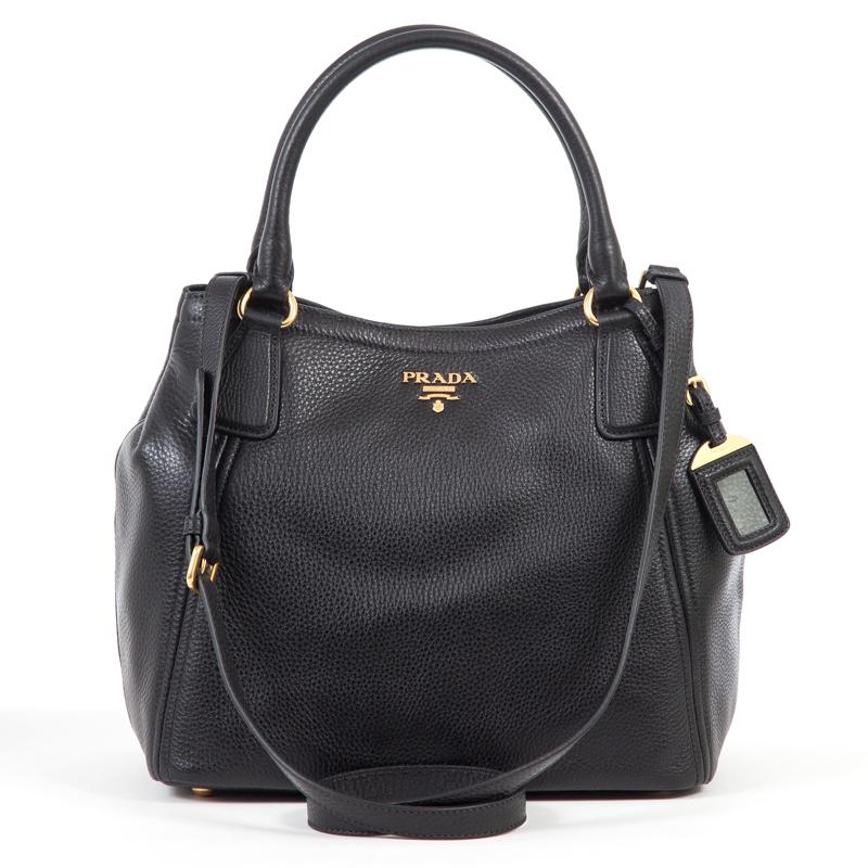 50b17b52e30e Prada Small Daino Tote Bag Dimensions. Prada BN2865 Vitello Daino Leather  ...