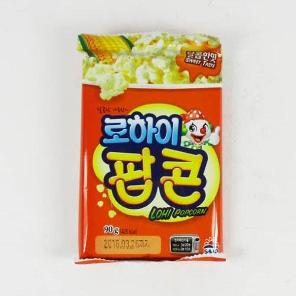 [현재분류명],180822AMART-3004 로하이 팝콘 달콤한맛 90g X 1개,봉지과자,스낵,스넥,쿠키,비스켓