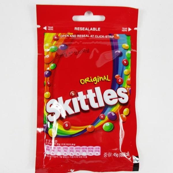 [현재분류명],스키틀즈 캔디 오리지날 빨강 45g X 20,캔디,사탕,종합캔디,과일사탕,젤리