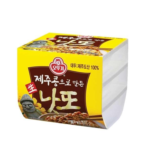 [현재분류명],180822AMART-4368 제주콩으로 만든 생낫또 168g(56g x 3ea) 4개,고추장,장,된장,콩식품,낫또