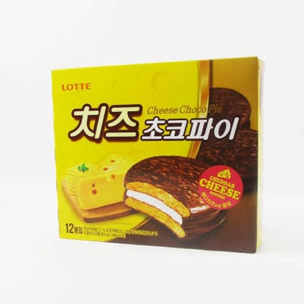 [현재분류명],180822AMART-4370 치즈 초코파이 384g X 8,초코파이,초코치즈,파이,롯데파이,파이