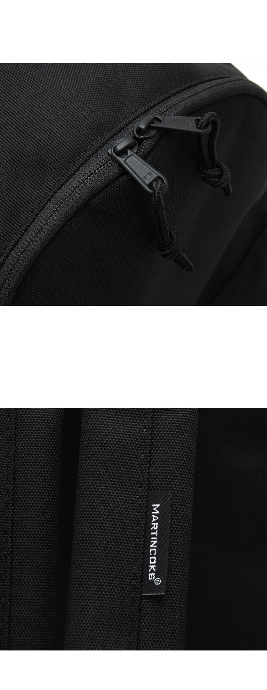 마틴콕스(MARTINCOKS) 코듀라 사이드메쉬 백팩 [블랙] CRP-CO-BLACK