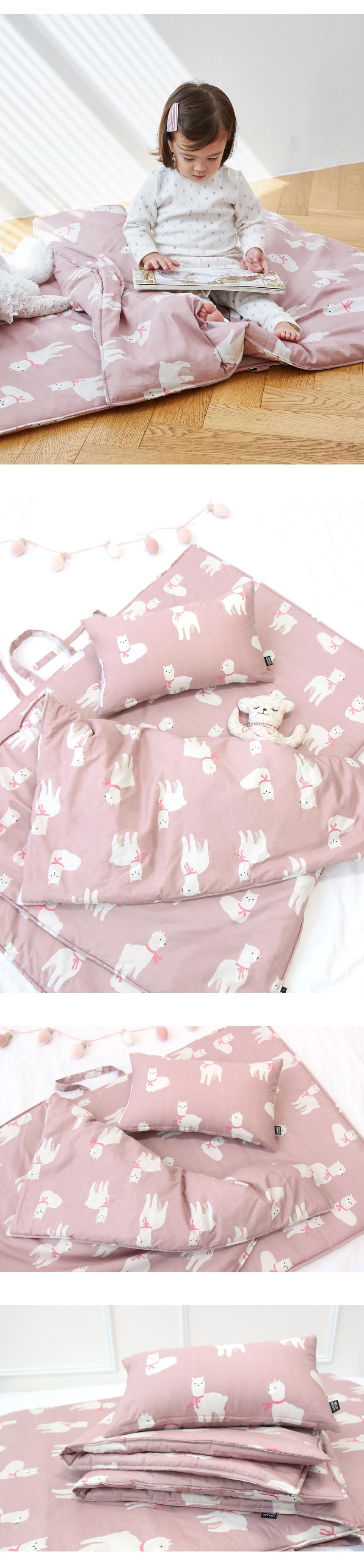 라마 어린이집 낮잠이불 세트 - 헬로미니미, 53,900원, 패브릭/침구, 낮잠이불
