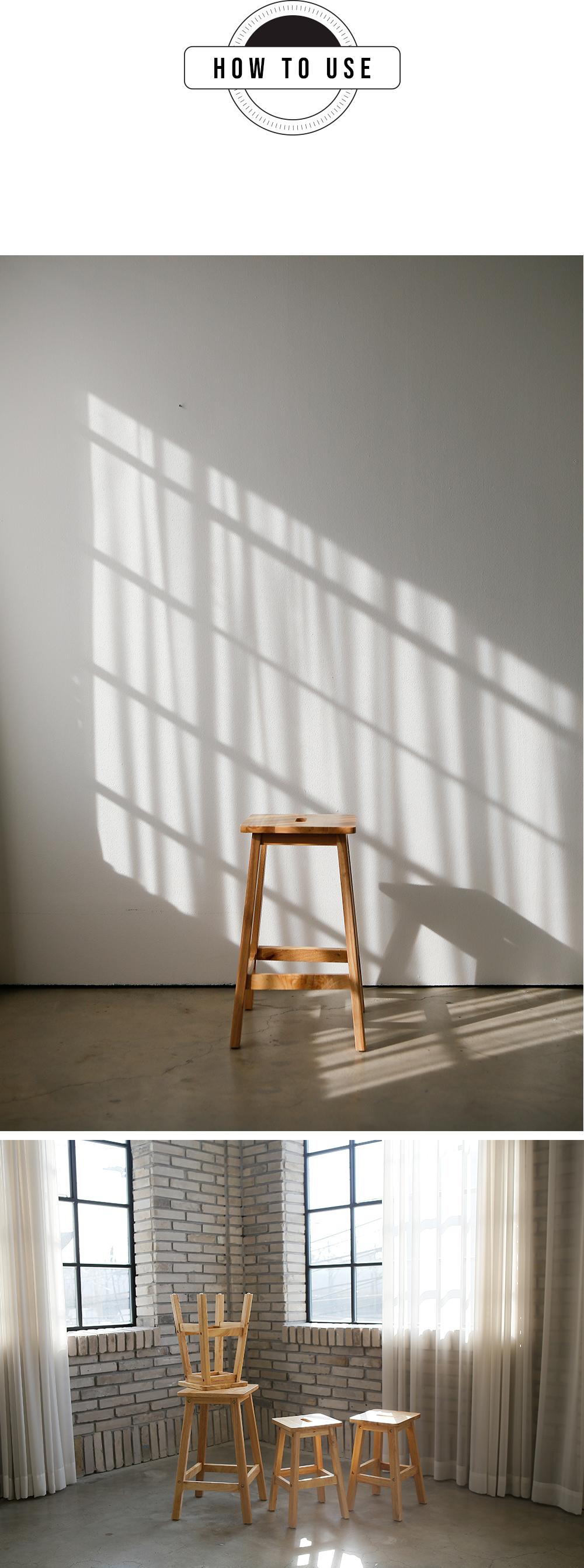 리빙숲 원목 사각스툴, 대 - 리빙숲, 28,900원, DIY 책상/의자, DIY 의자/스툴