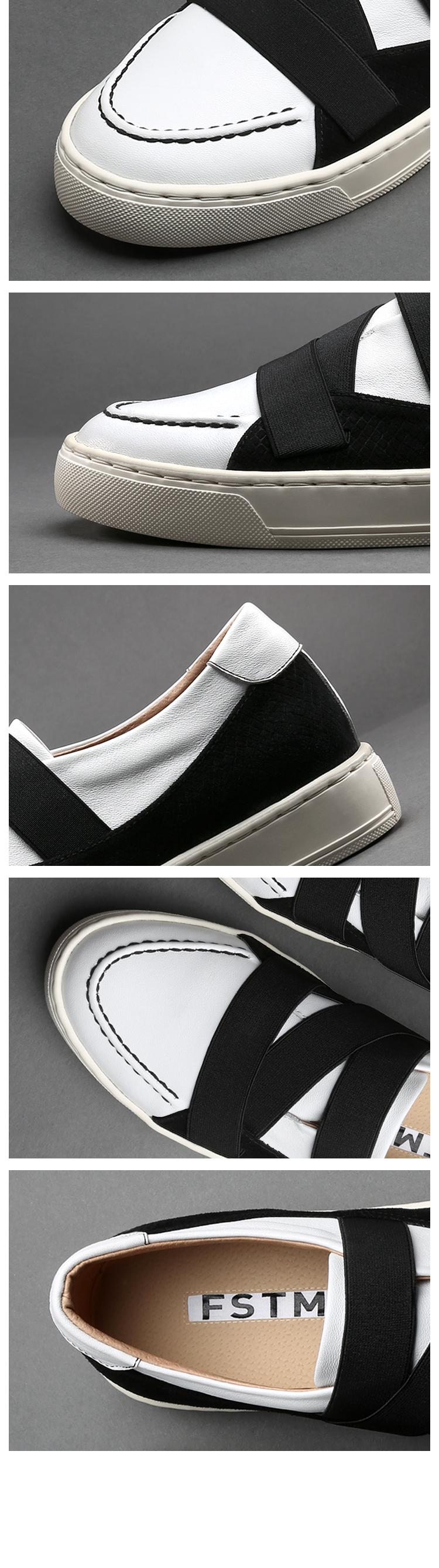 풀스팀(FULL STEAM) Sneakers_Colin FDA208-BK