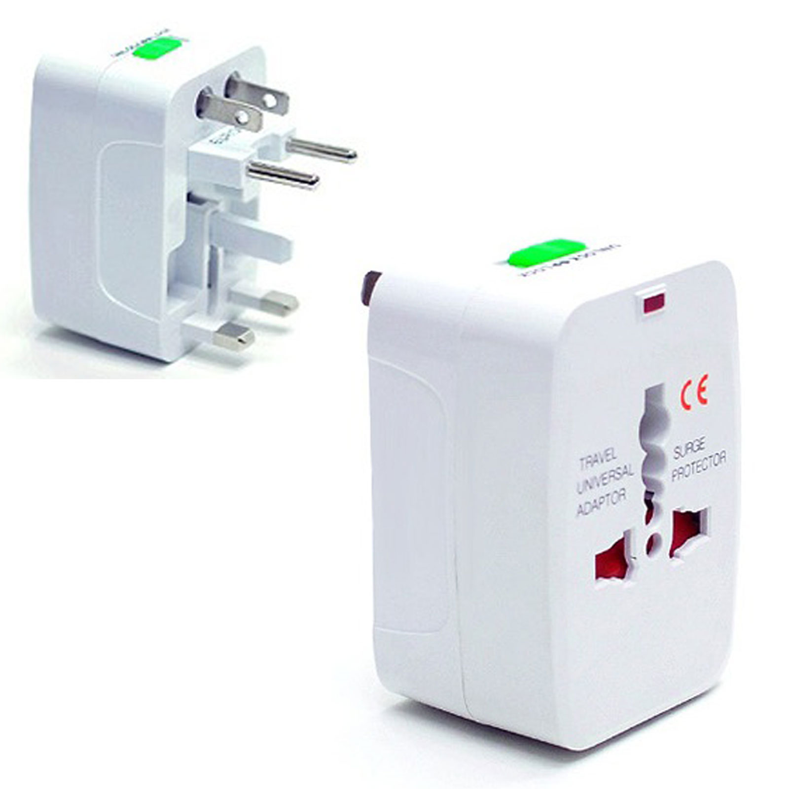 Travel Adapter Plug In Convert 220v To 110v Adapter 2pcs