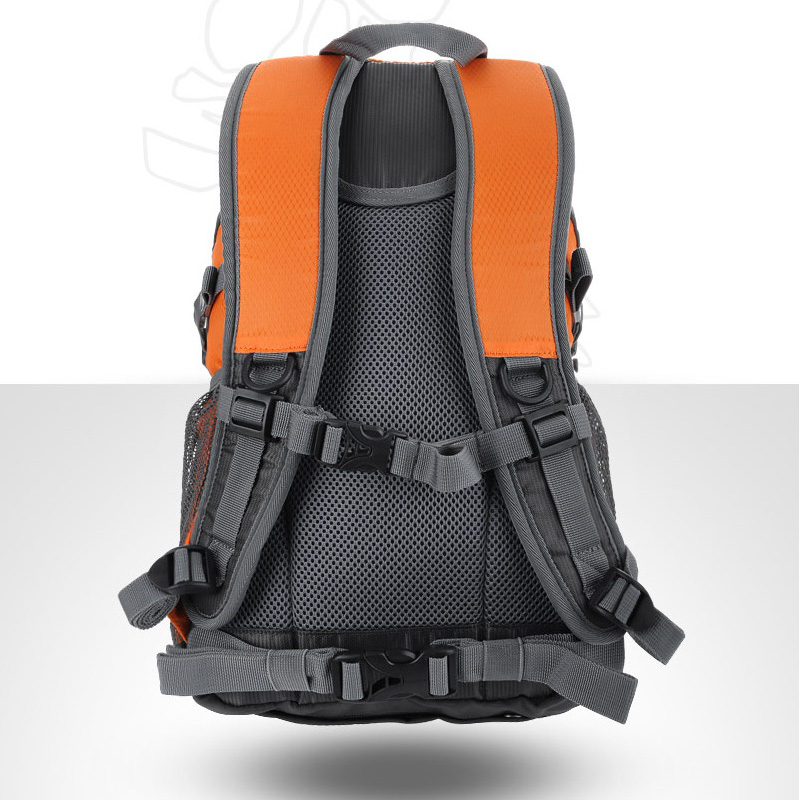 Daypack 20L ORANGE Backpacking Backpack Bag Rucksack Hiking Travel ...