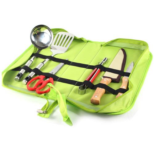 6pcs camping utensil set kitchen bbq garden outdoor tools for Kitchen tool 6pcs set