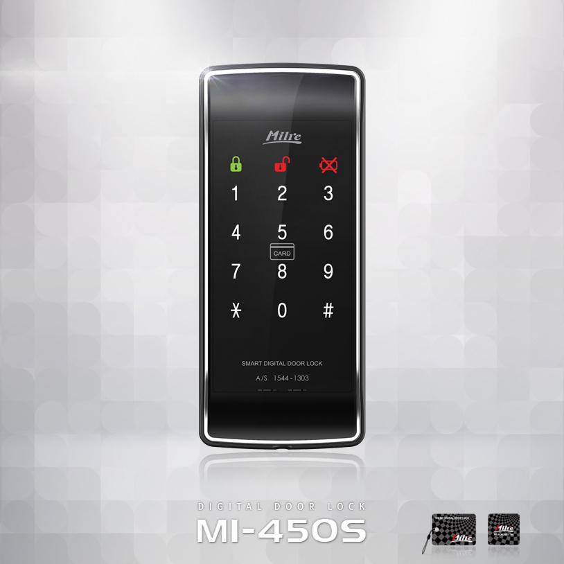 [대전 전지역 무료설치][보조키] 밀레 MI-450S [2way 비밀번호, RF키태그], 밀레시스텍