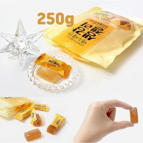 효도선물 1봉지 마음바른농부 생강 젤리 250g  자연의 맛과 향을 그대로 담은 달콤 새콤