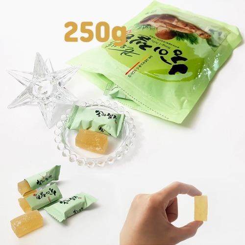 마음바른농부 송이 젤리 250g 자연의 맛과 향을 그대로 담은 달콤 새콤
