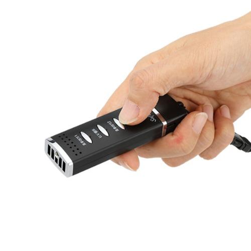 세이프메이트3(204P) 전자 호루라기 주파수 공진 강력한 113dB 경찰청장비 USB충전방식 LED등