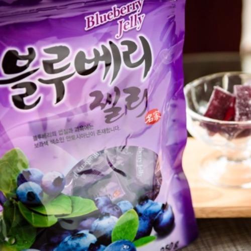 효도선물 1봉지 마음바른농부 블루베리 젤리 250g 자연의 맛과 향을 그대로 담은 달콤 새콤