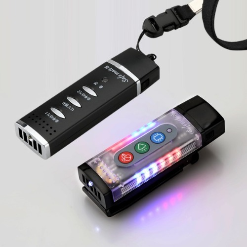 세이프메이트4 (205U)+3(204P) 전자호루라기 휘슬 LED 경광등 개인안전표시등