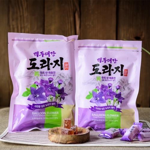 효도선물 마음바른농부 도라지 젤리 250g 자연의 맛과 향을 그대로 담은 달콤 새콤