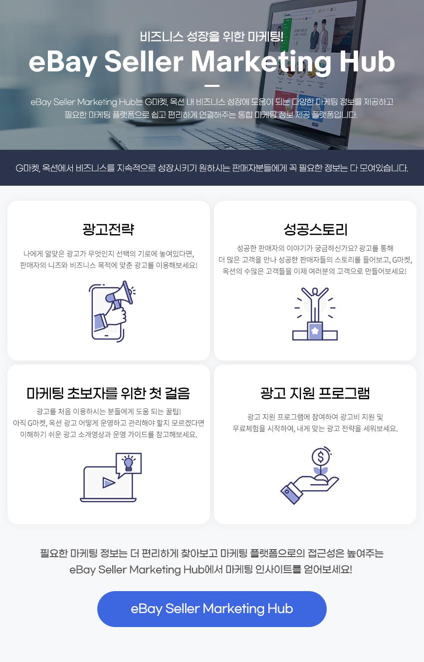 eBay Seller Marketing Hub