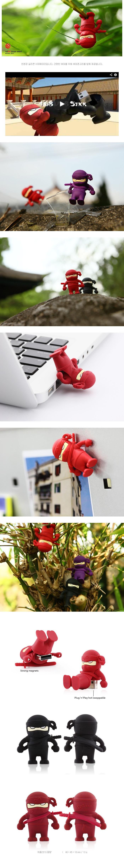 본컬렉션 캐릭터 USB메모리 닌자 16GB (레드) - 본컬렉션A, 24,900원, 캐릭터형 USB 메모리, USB 16G
