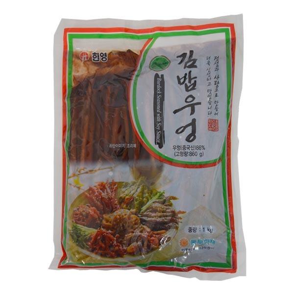 [현재분류명],180822DSPRO-1266 T00261/한영 녹농원 김밥우엉1kg,반찬,반찬류,반찬단지,식품,식자재