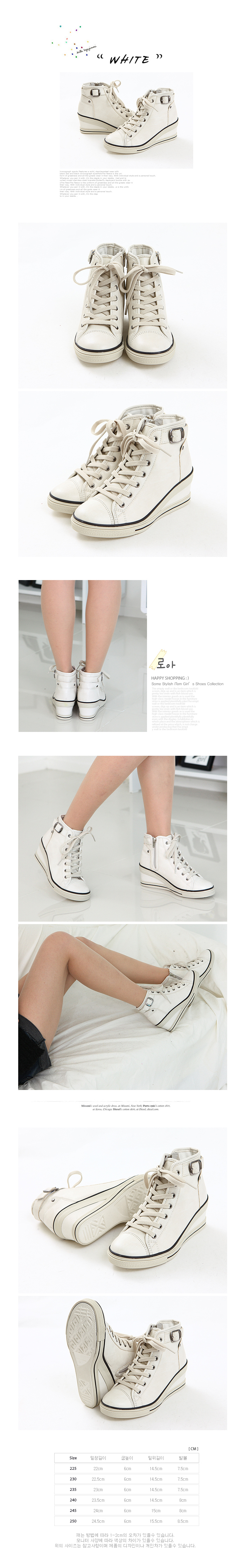 Women wedge heel shoes Ankle Boots