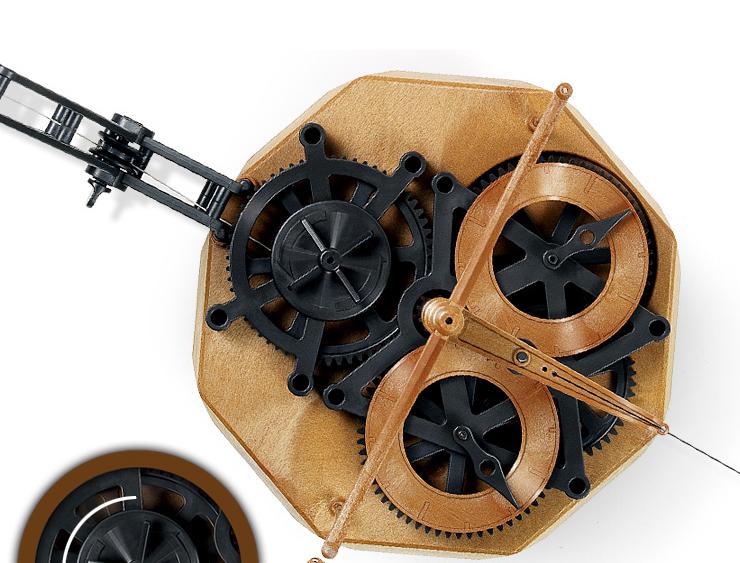 Academy Da Vinci Machines Flying Pendulum Clock Hobby Plastic Model Kit #18157