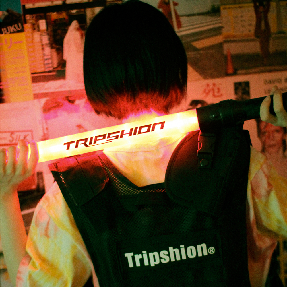 [TRIPSHION] LOGO RED LIGHT STICK - RED