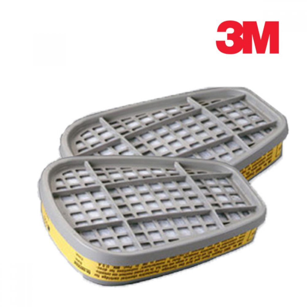 3M 방독마스크 방독필터 6003K 1봉 2개입 [제작 대량 도매 로고 인쇄 레이저 마킹 각인 나염 실크 uv 포장 공장 문의는 네이뽕]
