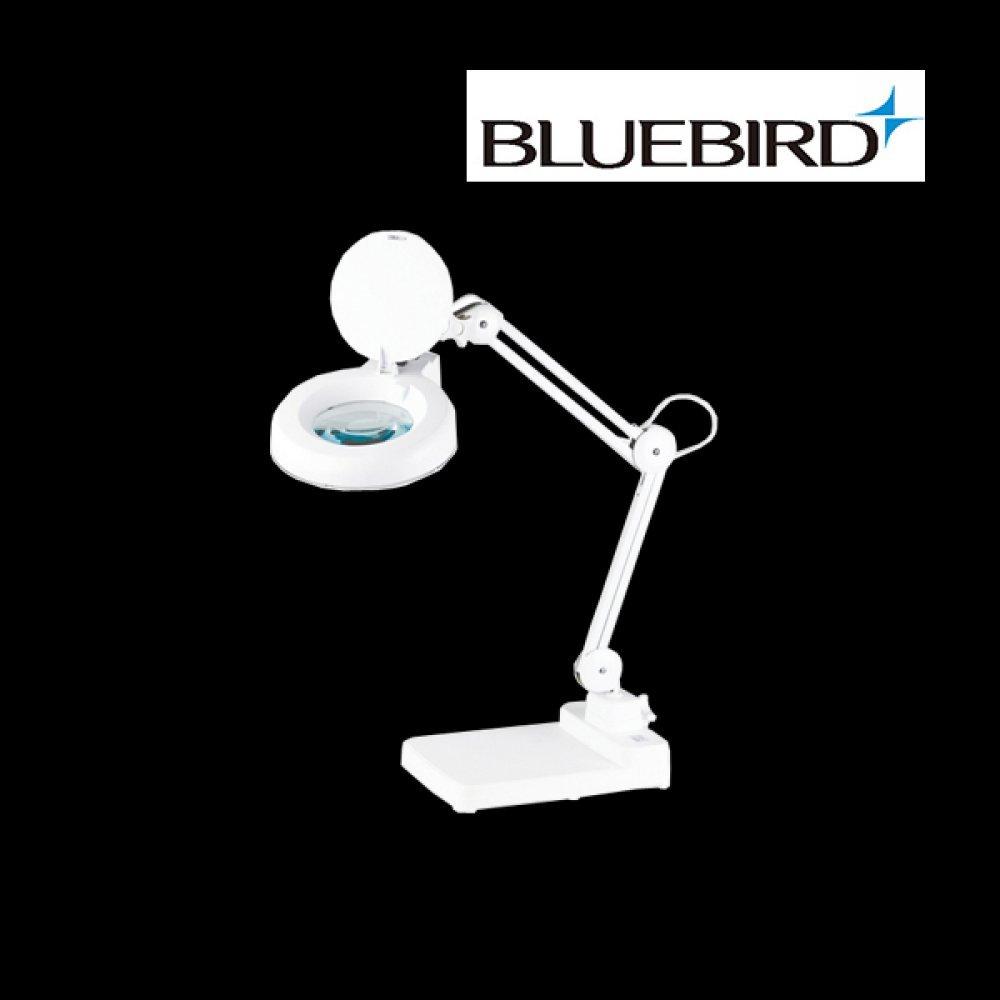 블루버드 조명 확대경 3배율 스탠드형 BD-B3 [제작 대량 도매 로고 인쇄 레이저 마킹 각인 나염 실크 uv 포장 공장 문의는 네이뽕]