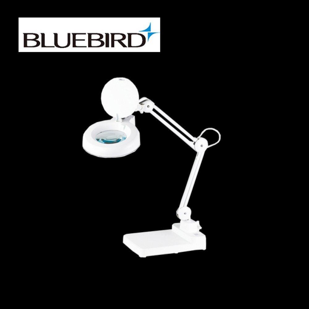 블루버드 조명 확대경 5배율 스탠드형 BD-B5 [제작 대량 도매 로고 인쇄 레이저 마킹 각인 나염 실크 uv 포장 공장 문의는 네이뽕]