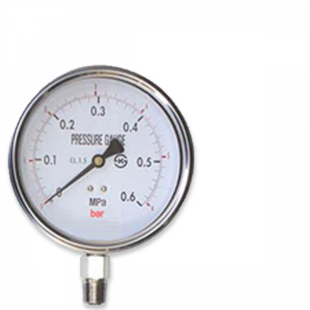오일압력게이지 압력계 60파이 35 kgf/cm2 압력측정 [제작 대량 도매 로고 인쇄 레이저 마킹 각인 나염 실크 uv 포장 공장 문의는 네이뽕]