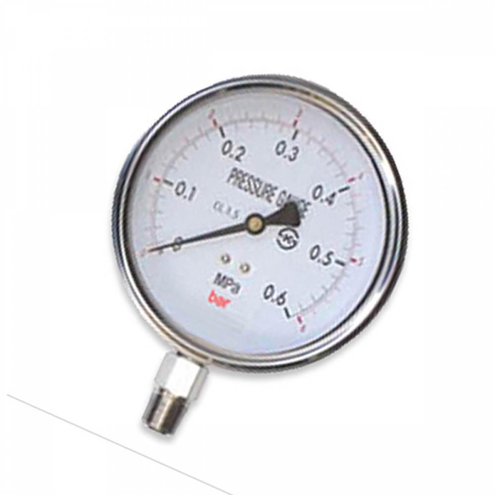 오일압력게이지 압력계 60파이 150 kgf/cm2 압력측정 [제작 대량 도매 로고 인쇄 레이저 마킹 각인 나염 실크 uv 포장 공장 문의는 네이뽕]