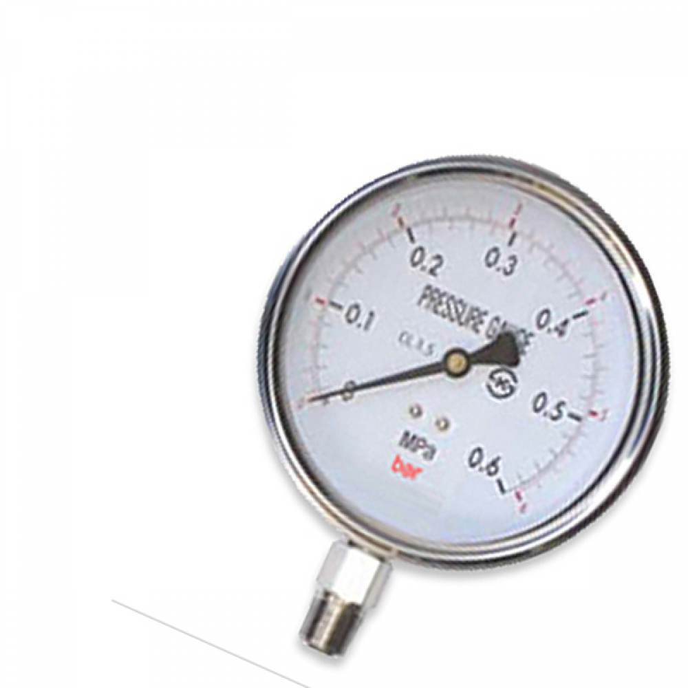 오일압력게이지 압력계 100파이 10 kgf/cm2 압력측정 [제작 대량 도매 로고 인쇄 레이저 마킹 각인 나염 실크 uv 포장 공장 문의는 네이뽕]