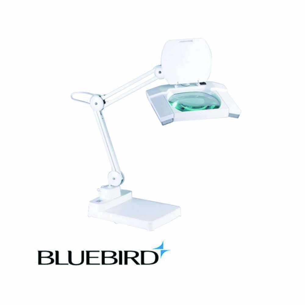 블루버드 LED 조명확대경 3배율 스탠드형 BD-L3 [제작 대량 도매 로고 인쇄 레이저 마킹 각인 나염 실크 uv 포장 공장 문의는 네이뽕]