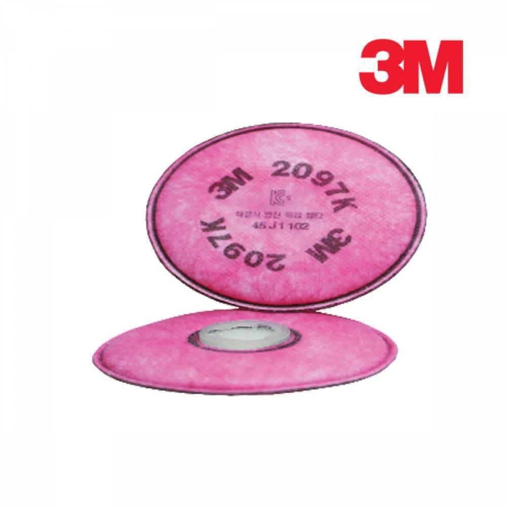 3M 방독마스크 방진필터 2097K 1봉 2개입 [제작 대량 도매 로고 인쇄 레이저 마킹 각인 나염 실크 uv 포장 공장 문의는 네이뽕]