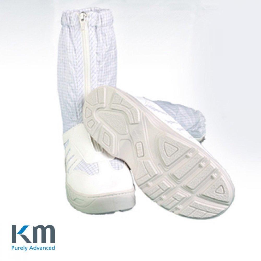 KM 크린룸용 부츠형 차세대 작업화 고급형 KMBU-05 [제작 대량 도매 로고 인쇄 레이저 마킹 각인 나염 실크 uv 포장 공장 문의는 네이뽕]