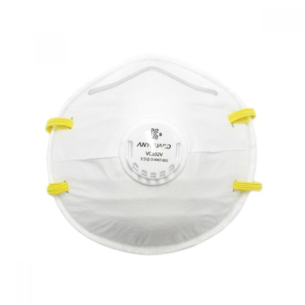 애니가드 방진마스크 밸브형 1급 VC102V [제작 대량 도매 로고 인쇄 레이저 마킹 각인 나염 실크 uv 포장 공장 문의는 네이뽕]