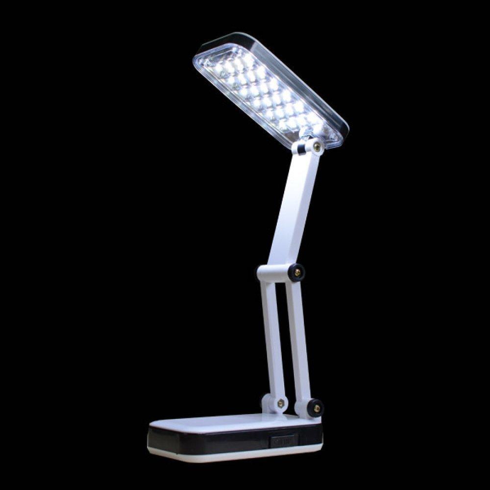 접이식 책상 24구 LED 램프 스탠드 휴대용 램프