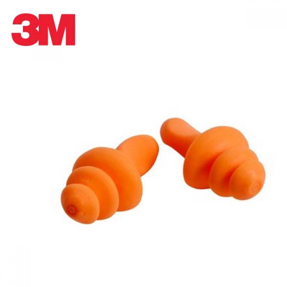3M 재사용 가능 귀마개 1260 5세트 묶음 [제작 대량 도매 로고 인쇄 레이저 마킹 각인 나염 실크 uv 포장 공장 문의는 네이뽕]